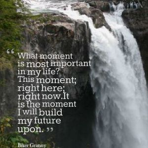 what moment waterfalls imagequote