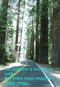 no distance too far