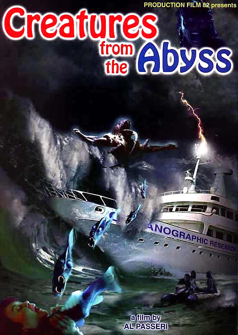 Poster do filme Creatures From The Abyss