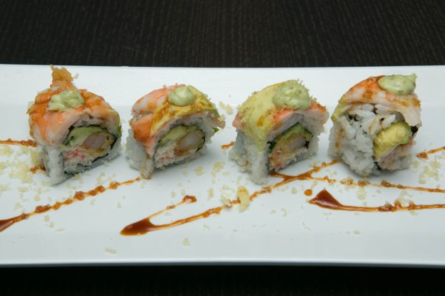 In N Out Shrimp Tempura Roll