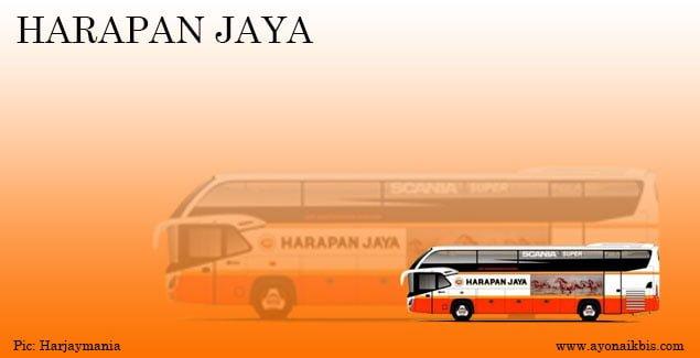 Bus terbaru Harapan Jaya