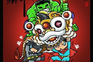 LucWen: Ilustrasi Tahun Baru Imlek 2014