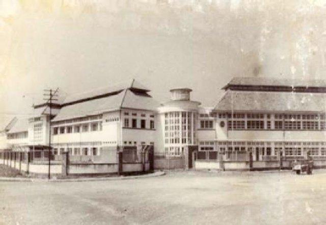 Gedung RS Kelamin tahun 1953. Sumber: P3SKK, 2008