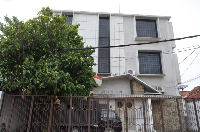Bangunan kantor Pabrik Coklat