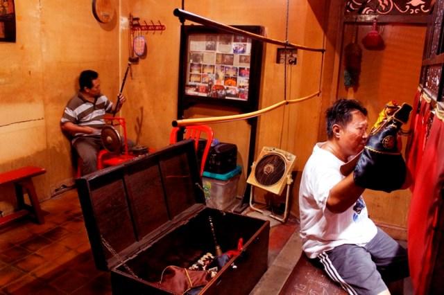Wayang Potehi di Klenteng Dukuh. Foto: Edbert William