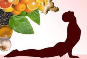 veg deit for yoga