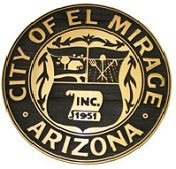 El Mirage seal of the City.