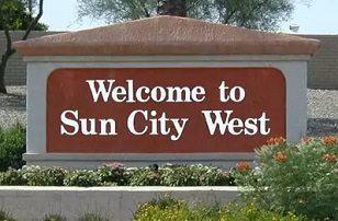 Sun CIty West sign.