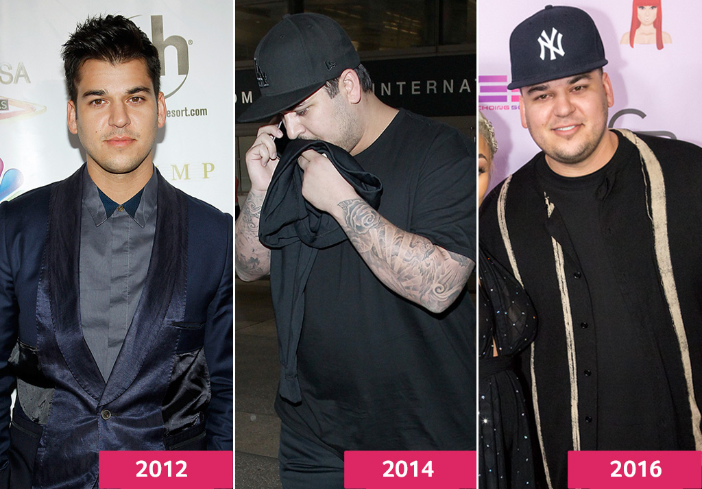 Image result for Rob kardashian before and after