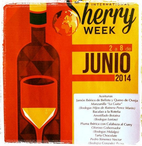sherry tasting menu vineria