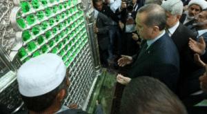 اردوغان قبر الخميني