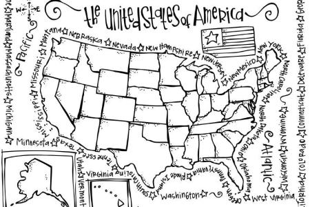 pics photos united states coloring pages