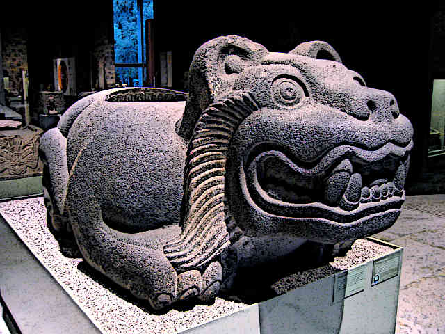 Ancient-Aztec-Artifacts-Ancient-Aztec-jaguar-shaped-cuauhxicalli