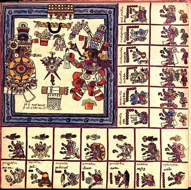 Aztec-Books-Aztec-Codex-Borbonicus