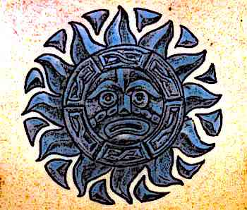 Aztec-Designs-Sun-Tattoo