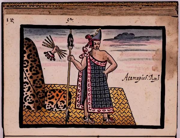 Aztec King Acamapichtli