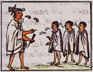 Aztec-Parents-Teaching-Aztec-Children