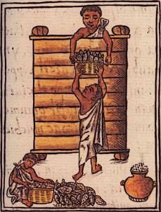 Aztecs-Farmers-Storing-Maize