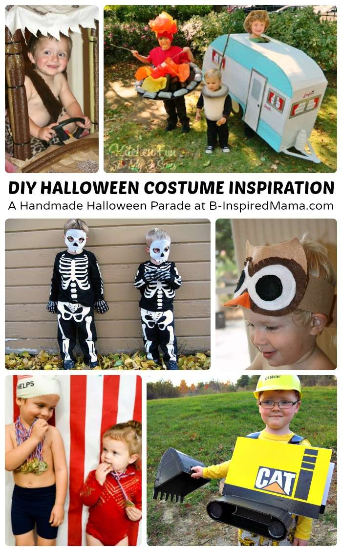 Hanmade Halloween Costumes Inspiration at B-Inspired Mama