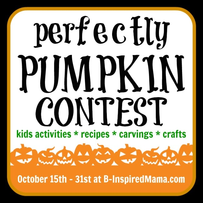 All About the Perfect Pumpkin Contest at B-InspiredMama.com