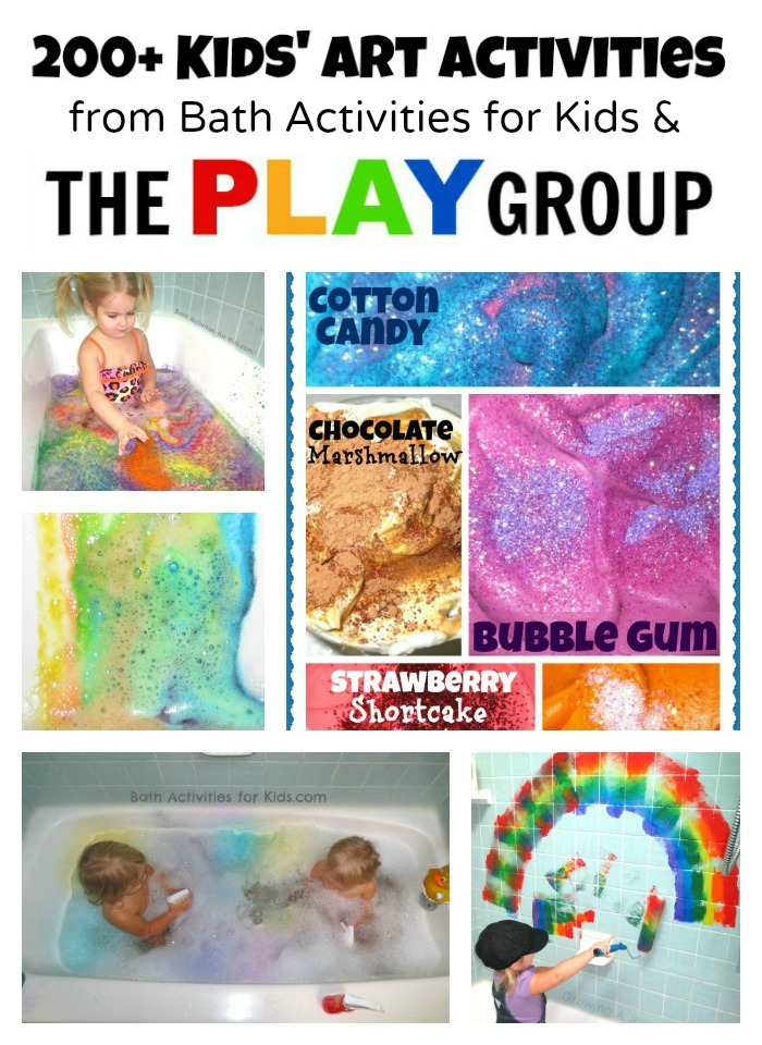 Art Activities from Bath Activities for Kids and The PLAY Group