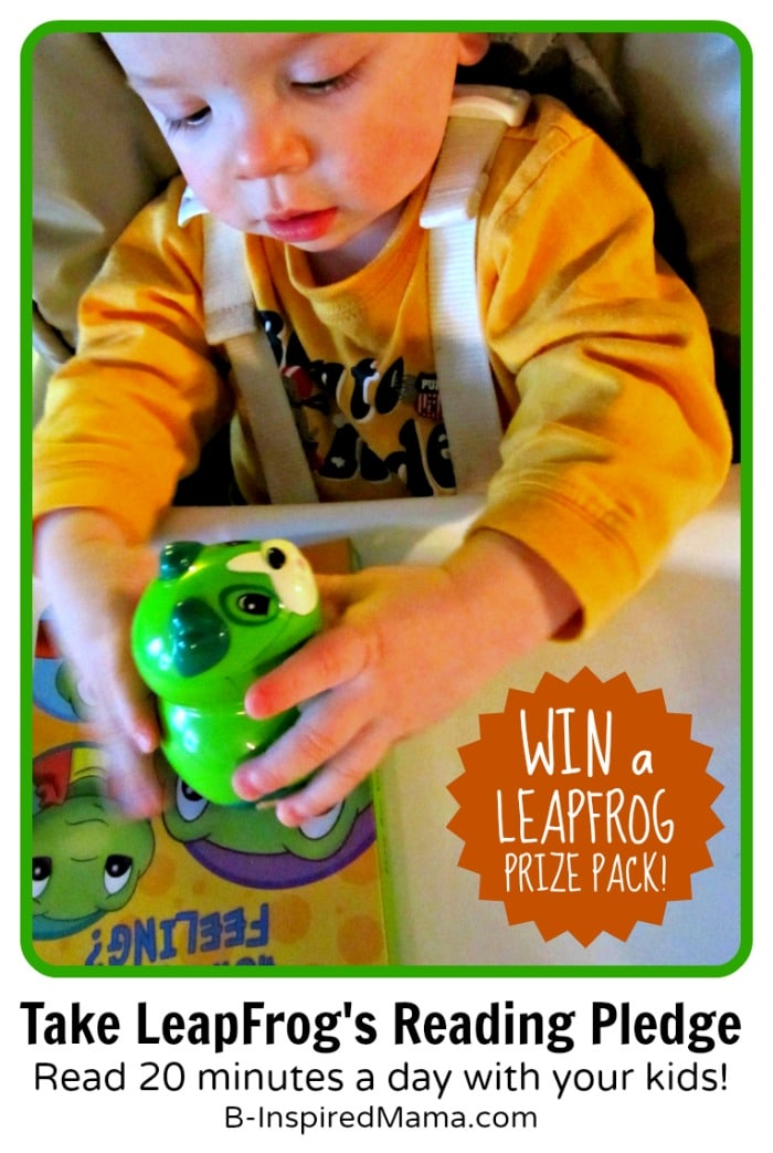 Take LeapFrog's Reading Month Pledge + a LeapFrog Giveaway at B-InspiredMama.com