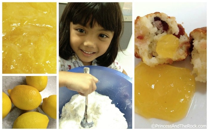 Lemon Muffin Making Preschool Activities at B-Inspired Mama