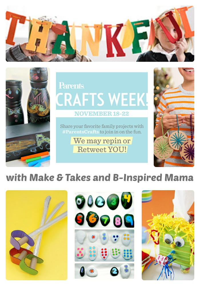 Fun Kids Crafts Pins with #ParentsCrafts Week at B-Inspired Mama