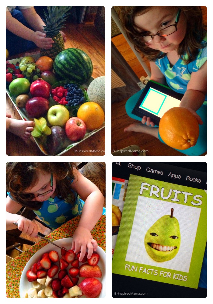 Kids Fruit Learning and Exploration - Sponsored by FruitsMax at B-Inspired Mama