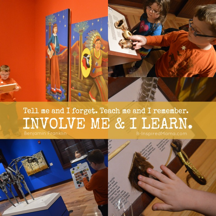 Involve me and I Learn - The Benefits of Homeschooling for Us at B-Inspired Mama