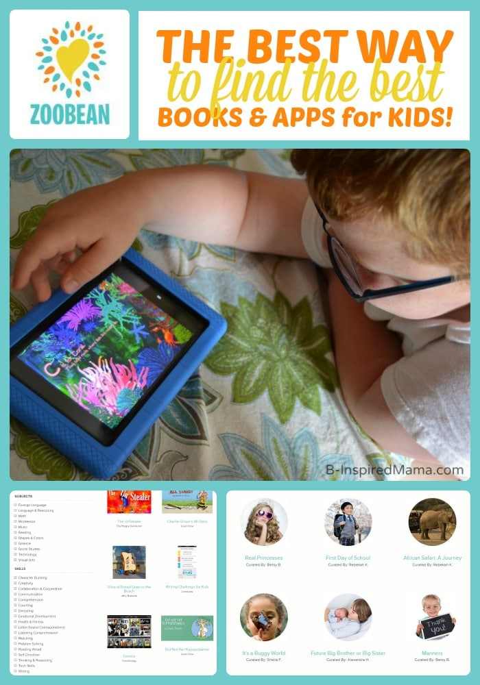 A Fun Way to Find Books and Apps for Kids