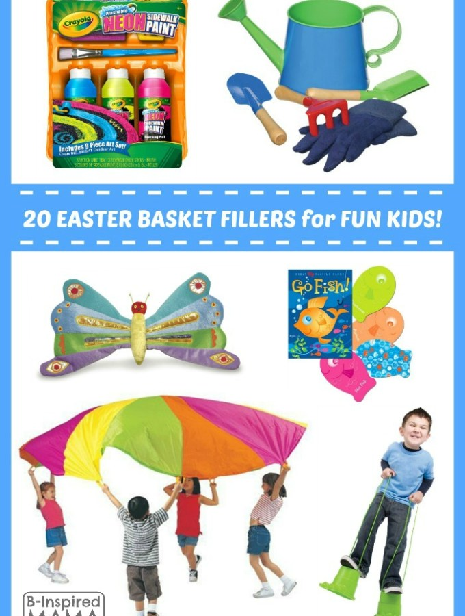 Fun Finds for a Fun-Filled Easter Basket