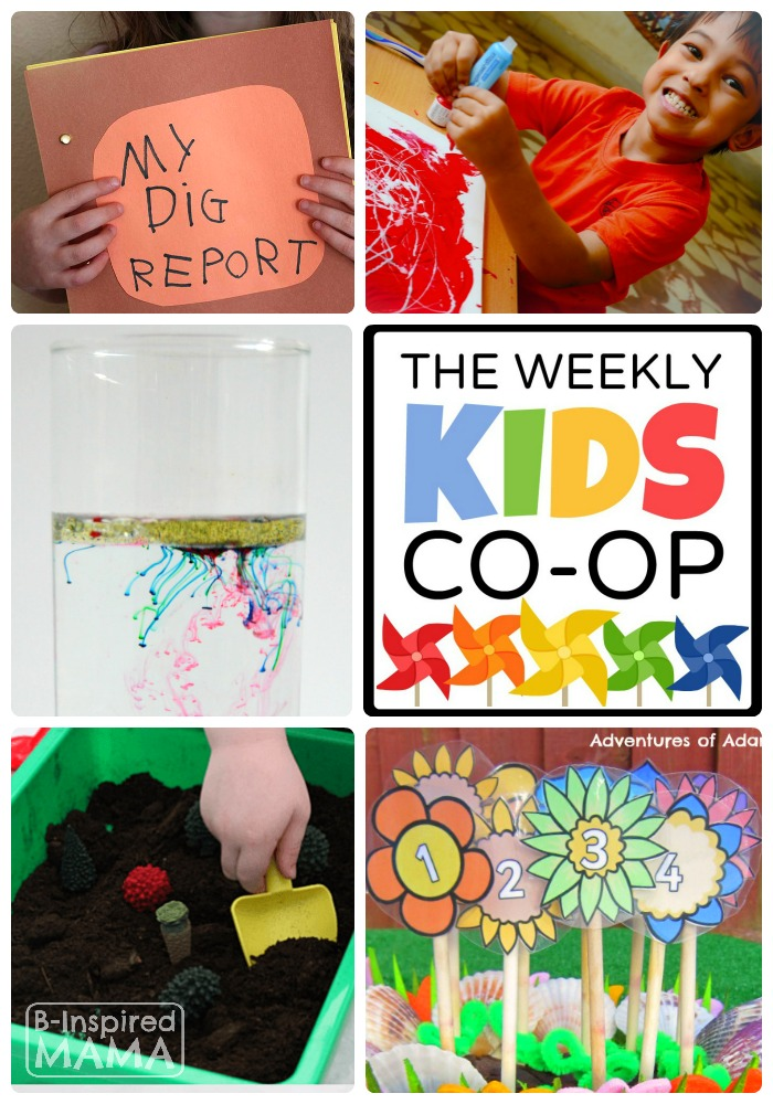 New Kids Activities Weekly at The Kids Co-Op Link Party