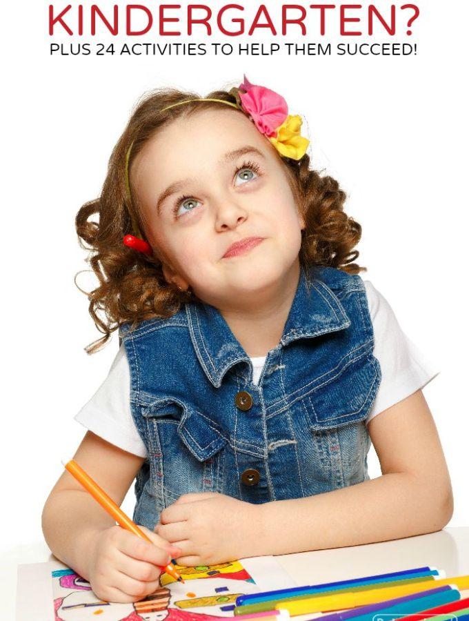 What Do Kids Learn in Kindergarten? + 24 Activities, Too!