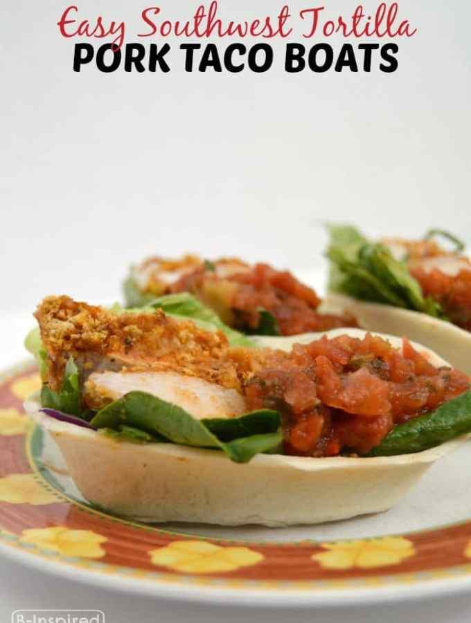 Easy Southwest Pork Taco Boat Dinner Recipe