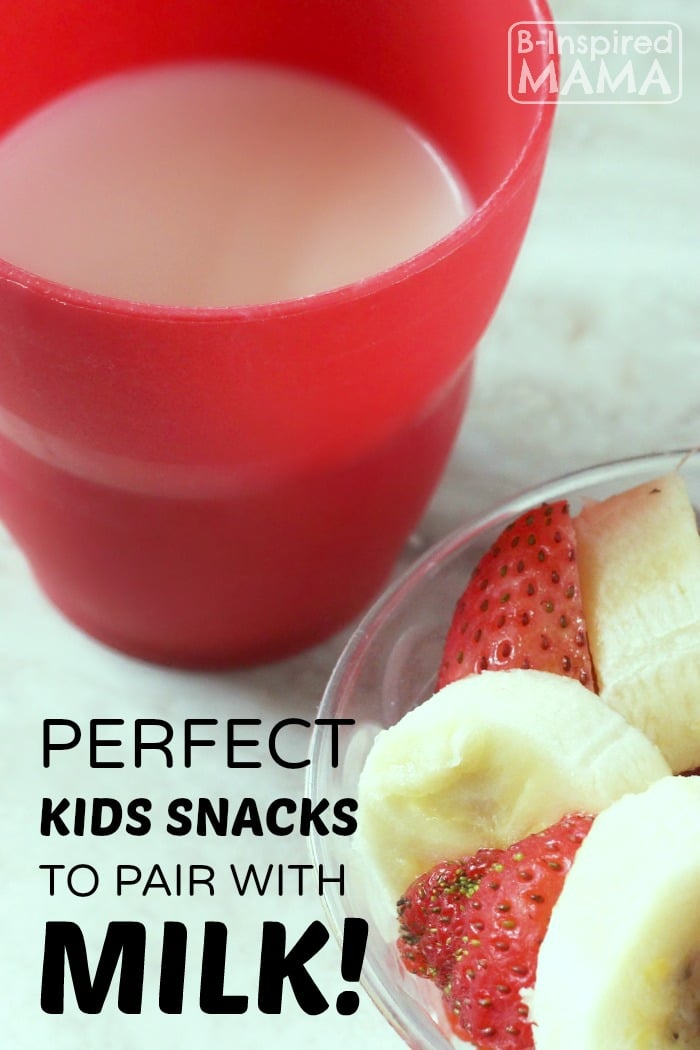 Perfect Kids Snacks to Pair with Milk