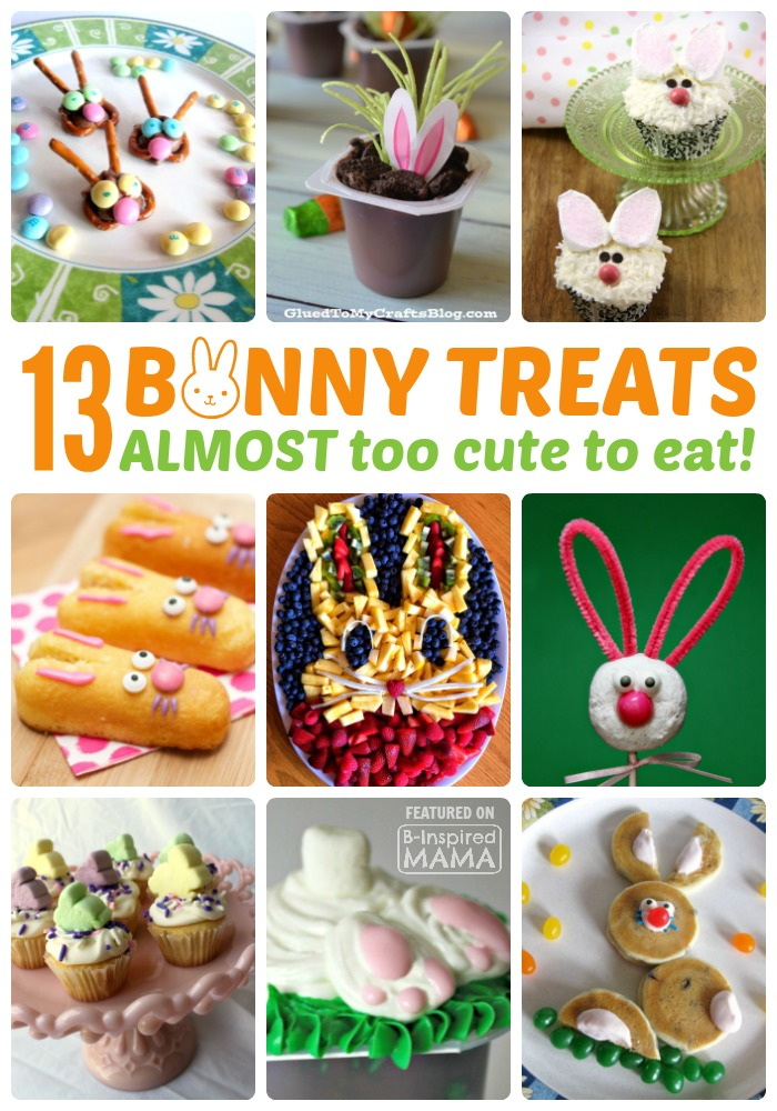 13 Adorable Bunny Themed Easter Treats