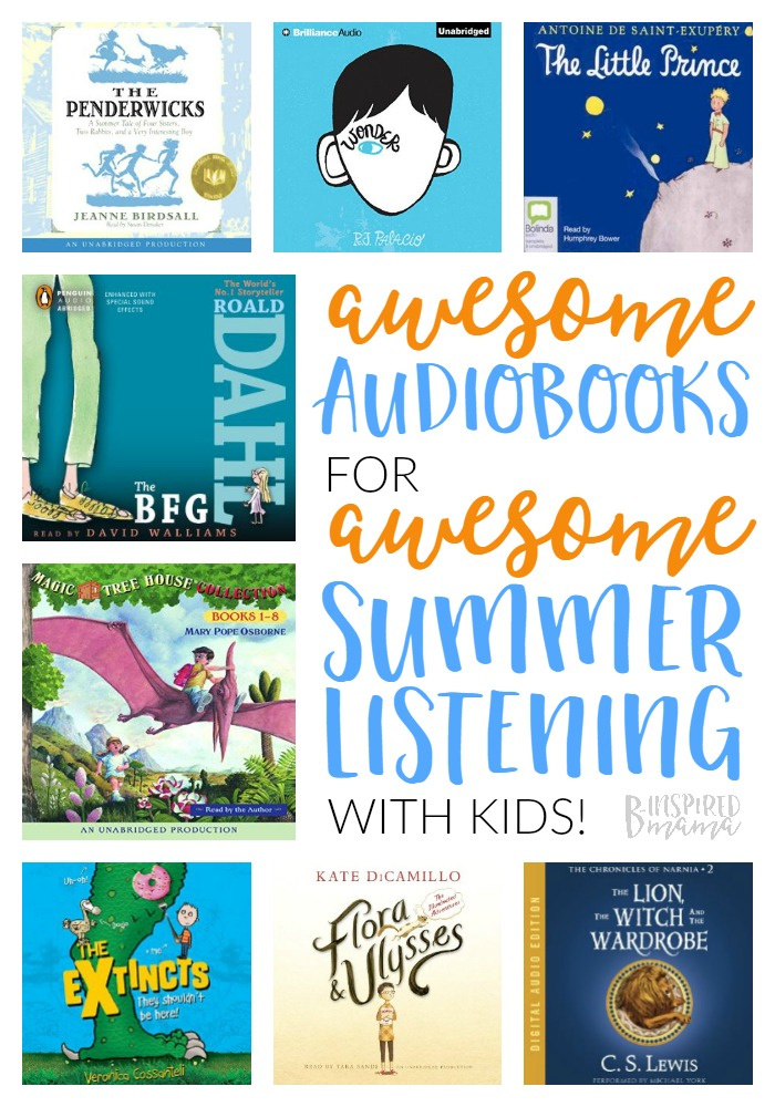 The Best Audiobooks for Kids – To Fit in Some Summer Learning