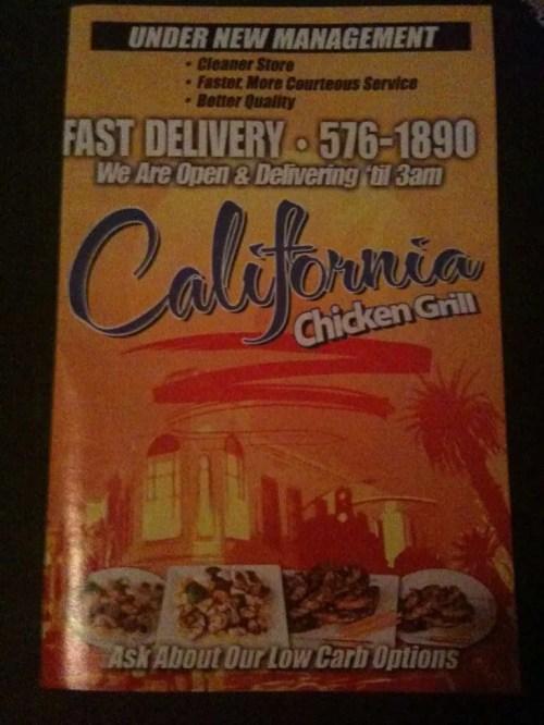 Medium Of California Chicken Grill