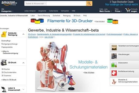 Der B2B-Shop von Amazon funktioniert, wie man es aus dem B2C-Geschäft kennt