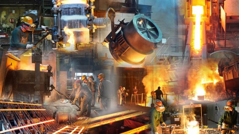 Stahlwerk-Impressionen