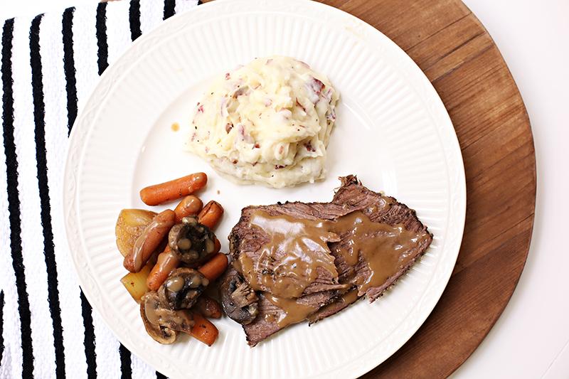 recipe: how to thicken pot roast gravy in crock pot [5]