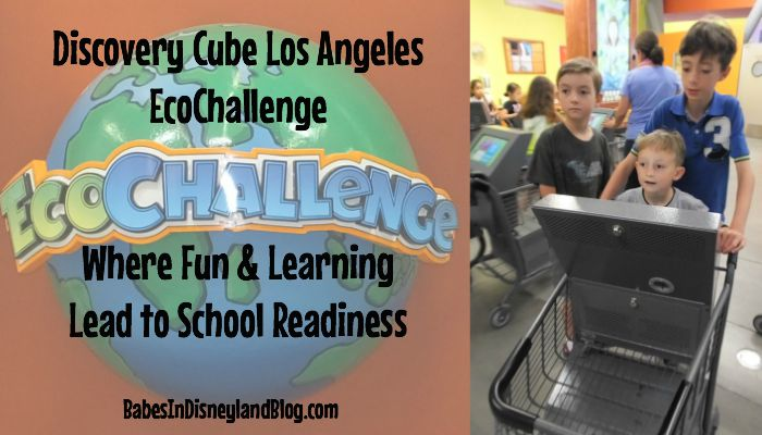 Discovery Cube Los Angeles Eco Challenge: Where Fun and Learning Lead to Kindergarten Readiness