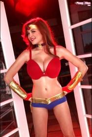 Tessa Fowler as Wonder Woman