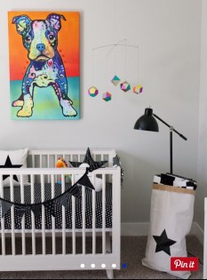 This Colorful Nursery Is the Ultimate Example of Contemporary Cool