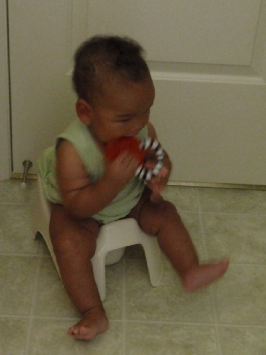 How I Potty Trained My 14-Month-Old Using Elimination Communication