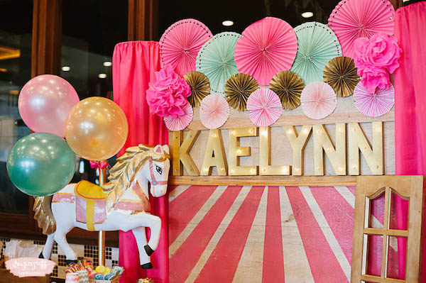 Pink Carnival Girl Birthday  Philippines Mommy Family Blog