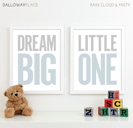 boy nursery art