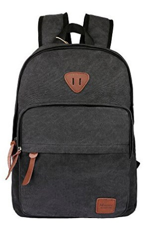Ibagbar-Canvas-Backpack-Laptop-Bag