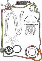 Ausmalbild-Sommer-Meeresbewohner2